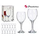 Set mit 12 kaiserlichen Wein- und Wassergläsern 34