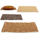wholesale Table Linen: rectangular table mat 45x30cm, 3 times assorted c