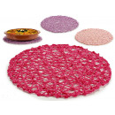 wholesale Table Linen: round table mat d38cm, colors 3 times assorted