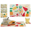 wholesale Drinking Glasses: set of 6 mat 6 pineapple coasters, 4 ...