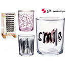 wholesale Toys: bistro pint glass decorated smile 380ml assorted