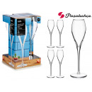 wholesale Household & Kitchen: set of 4 monte carlo cava glasses 370 ml