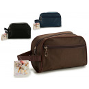 wholesale Travel Accessories: smooth toiletry colors 3 times assorted dark