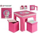 groothandel Geschenkartikelen: tafel met 2 pongotodos eenhoorn