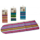 ironing board cover 140x50cm stripes, 4 times surt