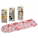 ironing board cover 140x50cm flowers, 4 times surt