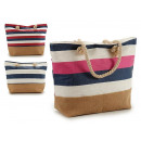 bag beach stripes colors 3 times assorted