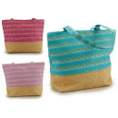 wholesale Miscellaneous Bags: bag beach stripes multicolored colors 3 times asso