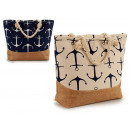 beach bag sailor anchors colors 2 times assorted