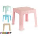 tavolo per bambini in plastica rattan, 4 volte ass