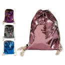 hurtownia Upominki & Artykuly papiernicze: plecak worek cekiny mieszany kolory