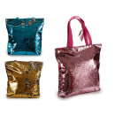 bag handles sequins colors assorted
