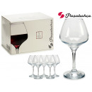 wholesale Drinking Glasses: set of 6 risus 455cc cups