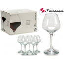 wholesale Drinking Glasses: set of 6 risus 550cc cups