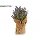 wholesale Artificial Flowers: lavender pot small bag 17x25cm