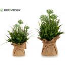 plant artific flowers pot sack sur2