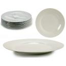 assiette porcelaine unie 27cm