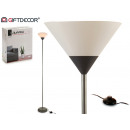 gray metal foot lamp 175cm