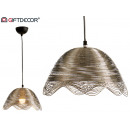 wholesale Lampes: metal lamp waves nickel small finish