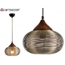 wholesale Lampes: metal lamp landscape nickel finish small