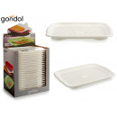 tray with white plastic drainer