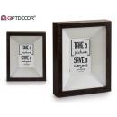 photo frame 10x15 dark wood molding