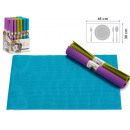table mat 30x45 ratan, colors 3 times assorted v