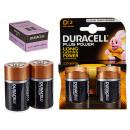 Duracell - pile alcaline plus blister 2