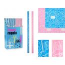 70x200 Geschenkpapierrolle für Kinder, 2-fach sort