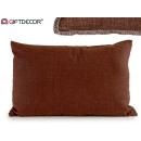 30x50 chocolate cushion
