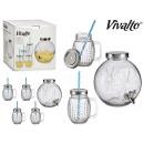 wholesale Heating & Sanitary: set of 4.5l faucet jar and 4 orange jugs