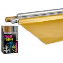 Geschenkpapierrolle 70x200 Gold gelegt