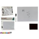 Großhandel Geschäftsausstattung: weiße magnetische Tafelmarkierung 21x29