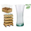 verre recyclé forme jarron