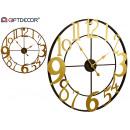 wholesale Clocks & Alarm Clocks: Movement type metal numbers perspec gilded