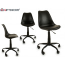 czarne krzesło biurowe desna
