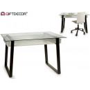 white desk table tray aken