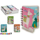 notebook 80 pages calls 4 times assorted