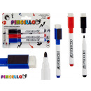 wholesale Gifts & Stationery: set of 3 eraser pens 3 colors