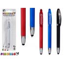 Kugelschreiber mit Zeiger 14cm Farben 4 fach sorti