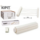 clothes rack 18m extendable 5 white strings