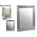 Spiegel 38x48 Silberrahmen
