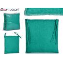 coussin de chaise 37x37cm verdâtre