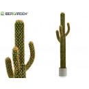 wholesale Artificial Flowers: 1tronco plastic cactus 3brazos espinas 160