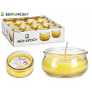 candle jar low citronella