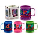 wholesale Houseware: plastic cup letters 111 large colors 4 times its