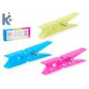 wholesale Manual Tools: set of 36 plastic clips 3 colors