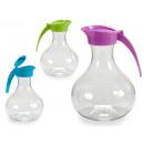 1.7l plastic jug round lid colors 3 times s