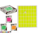 mayorista Regalos y papeleria: etiquetas adhesivas 17x24mm rectangular, 4 ...