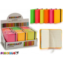 wholesale Gifts & Stationery: notebook 7,5x10,5cm colors 6 times assorted ...
